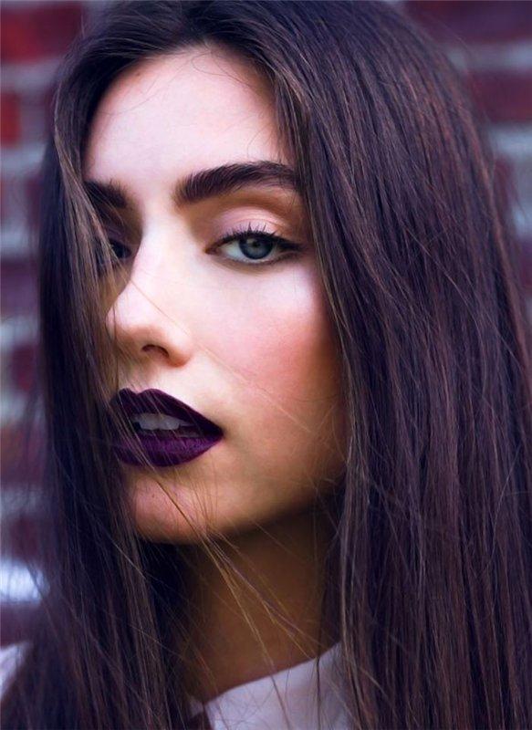 темный фиолетовый